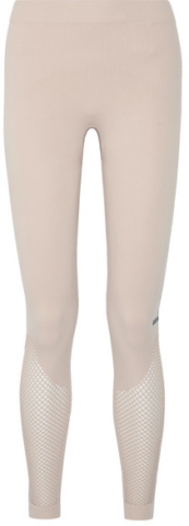 ADIDAS BY STELLA MCCARTNEY - THE MESH TIGHT STRETCH LEGGINGS - PASTEL PINK