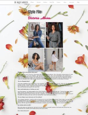 Bsquered Magazine Victoria Alvina